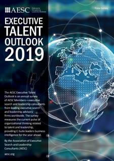 AESC Executive Talent Outlook Report 2019