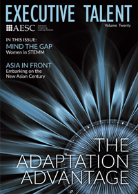 AESC Executive Talent Magazine: The Adaptation Advantage