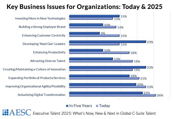 Key Business Issues Today and 2025