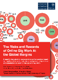 The Risk and Rewards of Online Gig Work at the Global Margins